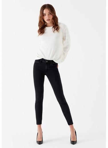 Mavi Jean Pantolon   Adriana Ankle - Super Skinny Gri